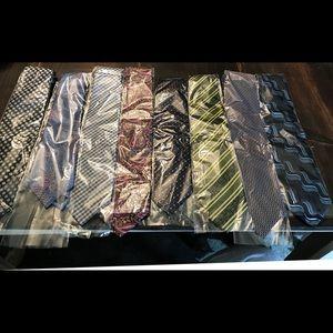 Lot of 8 men's ties